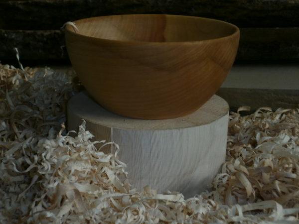 Bol en bois diamètre 15 cm